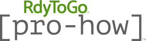 RdyToGo marketing graphic with pro-how